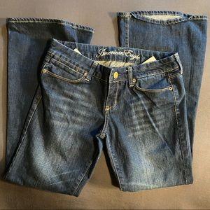 Vintage American Eagle Real Flare Jeans 6 Short